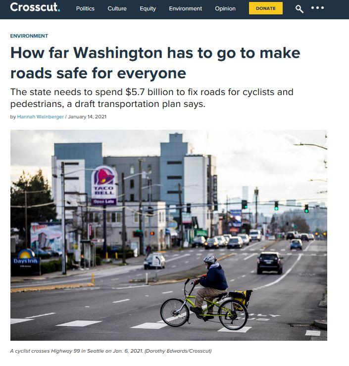 Washington Bike Law in the Press