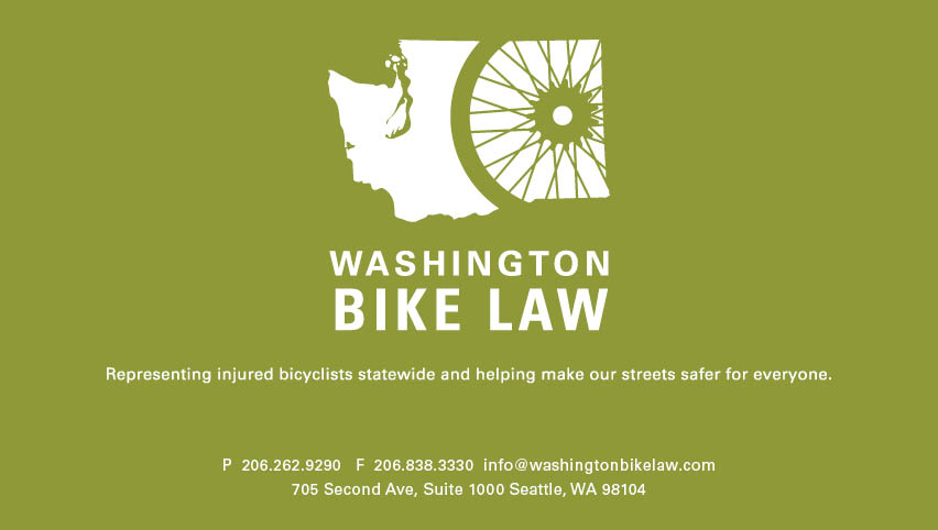 Washington Bike Law - Email Us Now.